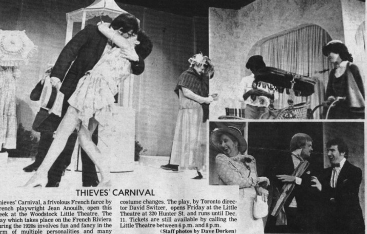 1982 Thieves' Carnival photo 1