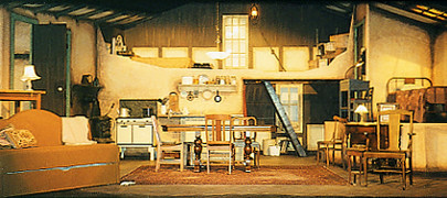 2002 The Diary of Anne Frank set