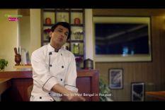 Mustard smoked bhapa maach - Vikas