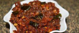 Fiery dried prawns sambal