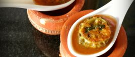Stuffed Karela in gravy