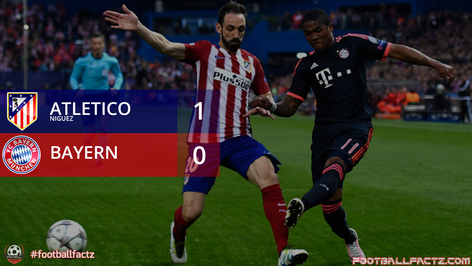 Atletico Madrid 1 - 0 Bayern Munich, Champions League