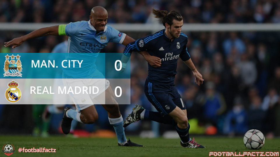 Manchester City 0 - 0 Real Madrid, Champions League