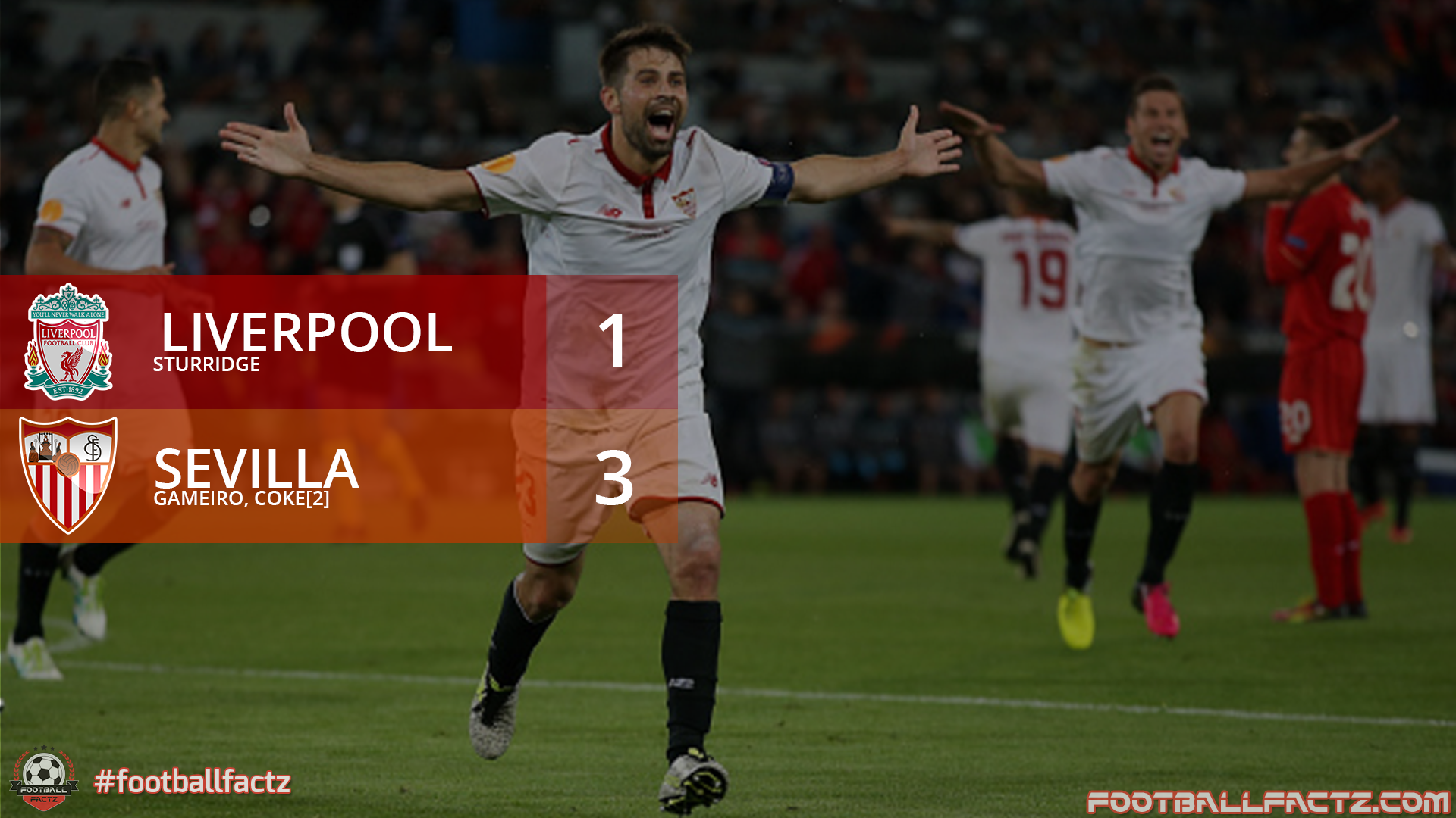 Liverpool 1 - 3 Sevilla, Europa League Final 2016