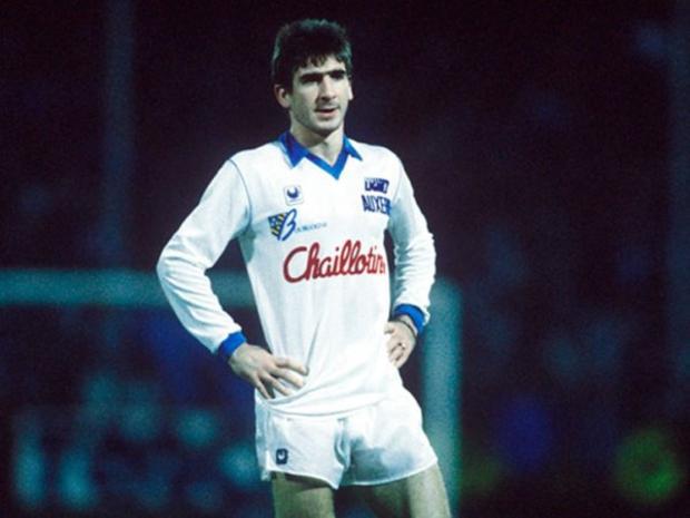 Eric Cantona at Auxerre