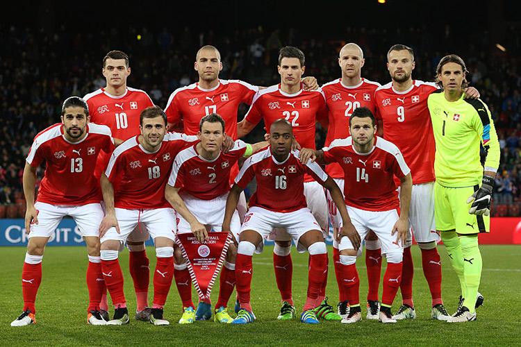 Euro 2016 - Switzerland team profile