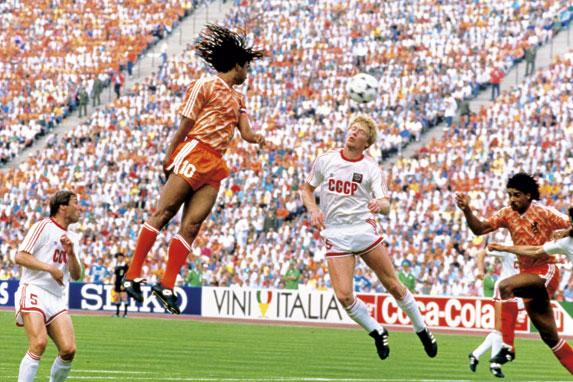 Netherlands vs USSR