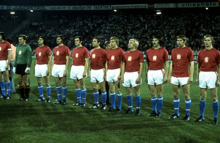 Czechslovakia Euro 1976 winner