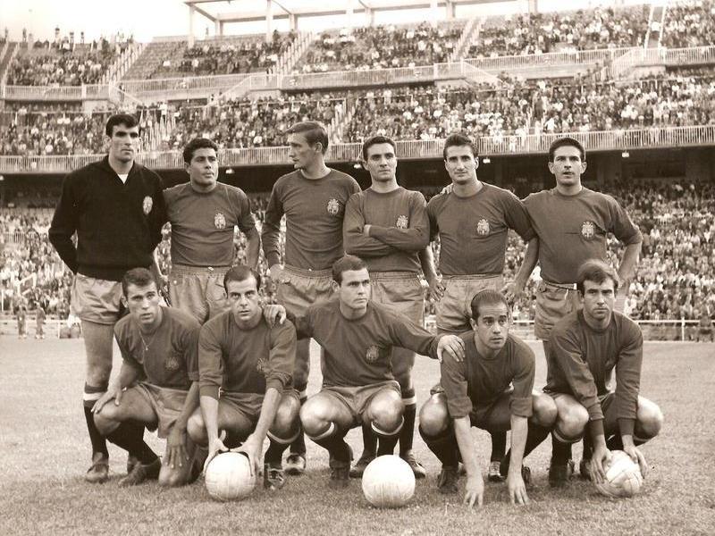 Spain Euro 1964 winner
