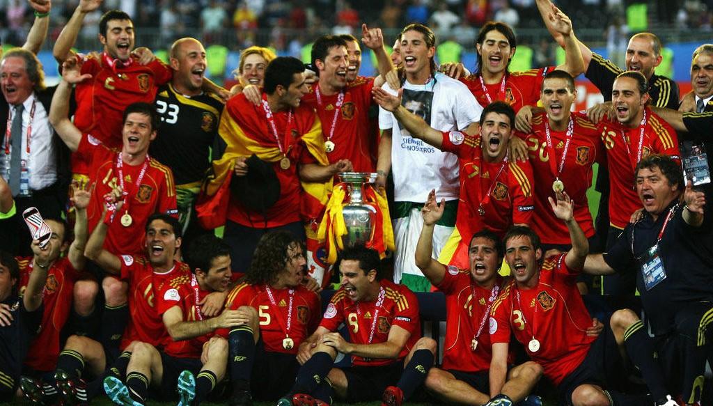 Spain Euro 2008 winner