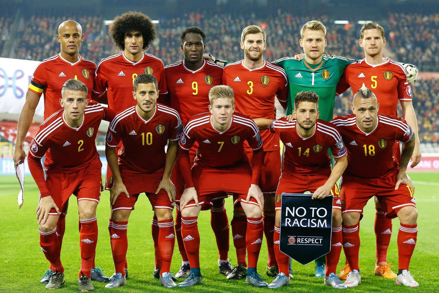 Euro 2016 - Belgium team profile