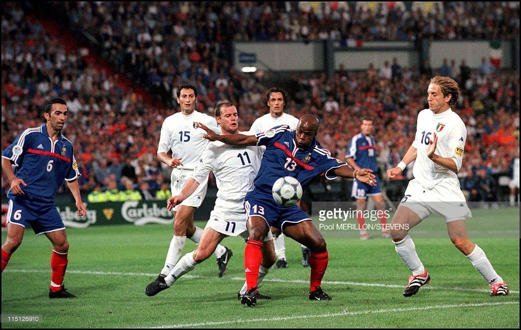 Italy vs France Euro 2000 final