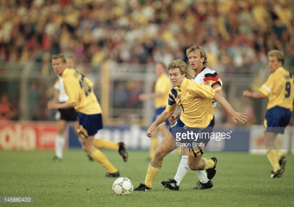 Sweden vs Germany Euro 1992
