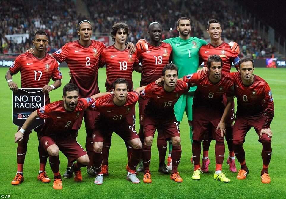 Euro 2016 - Portugal team profile