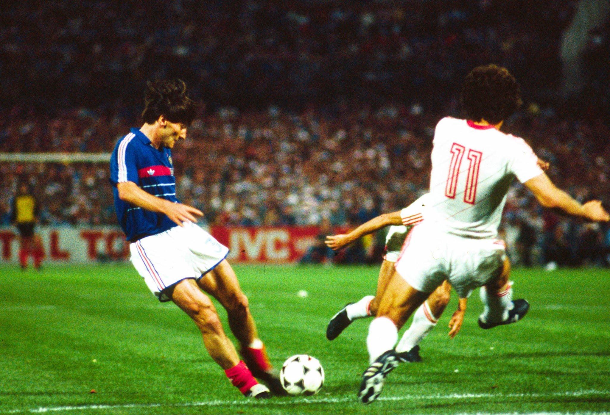France vs Portugal Euro 1984