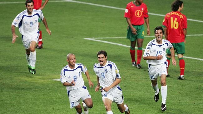 Portugal vs Greece Euro 2004
