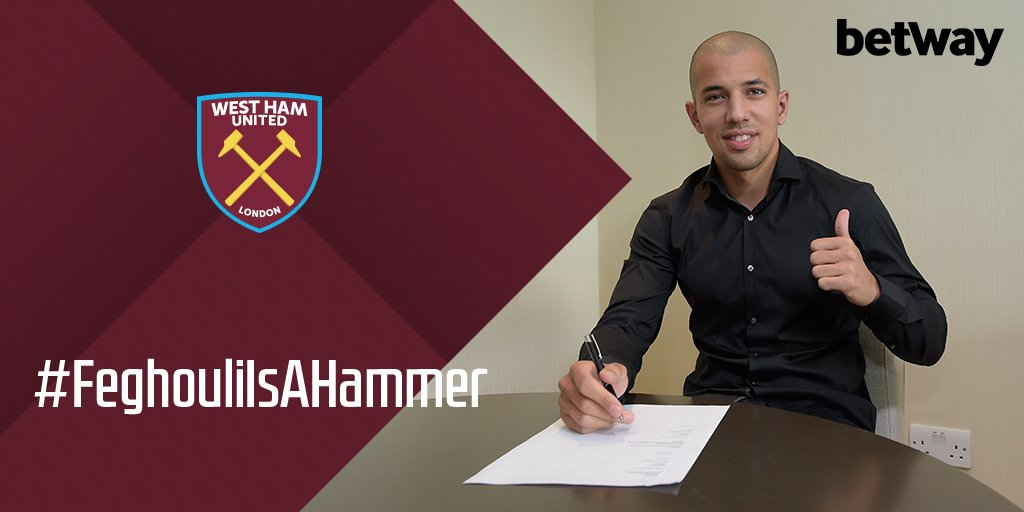 West Ham sign Sofiane Feghouli on a free transfer