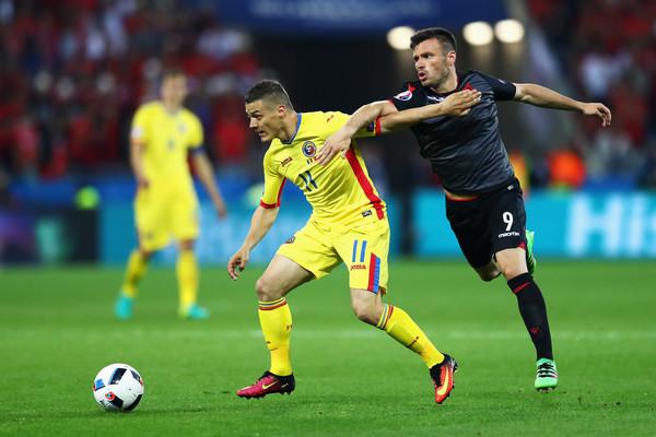 Memushaj in Romania vs Albania