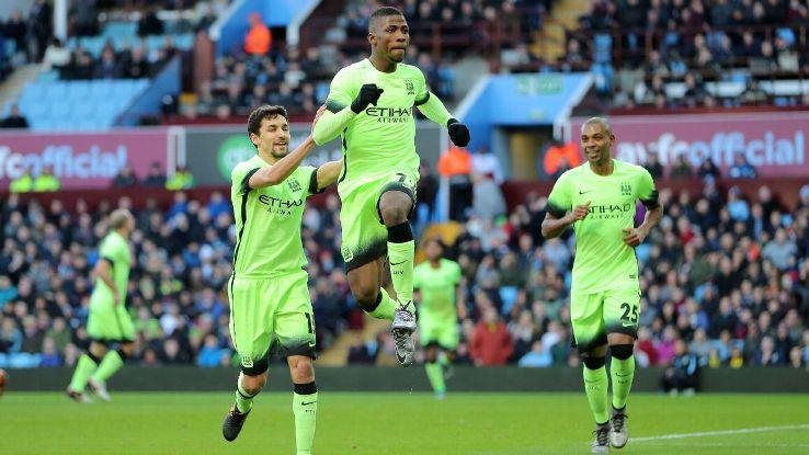 Iheanacho - Man. City vs Aston Villa
