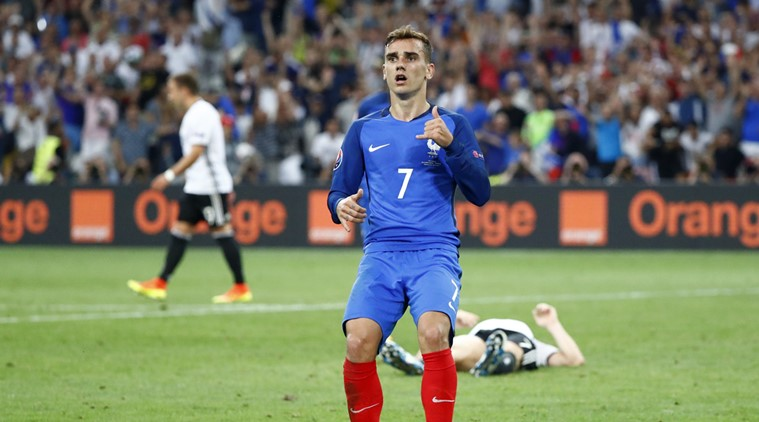Antoine Griezmann vs Germany
