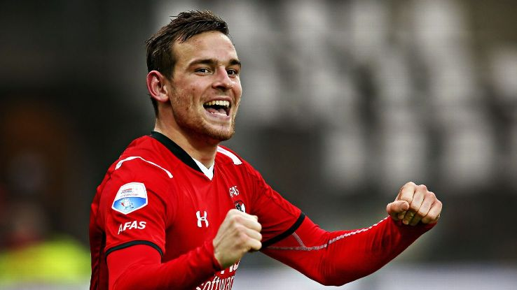 Tottenham sign Vincent Janssen from AZ Alkmaar