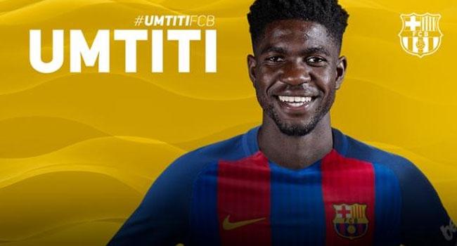 FC Barcelona announce Umtiti deal
