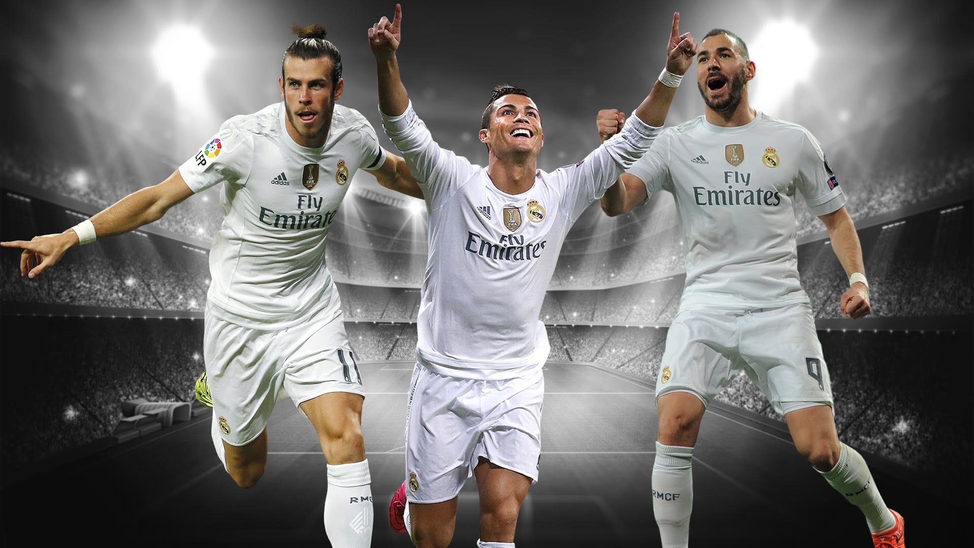 Real Madrid trio BBC