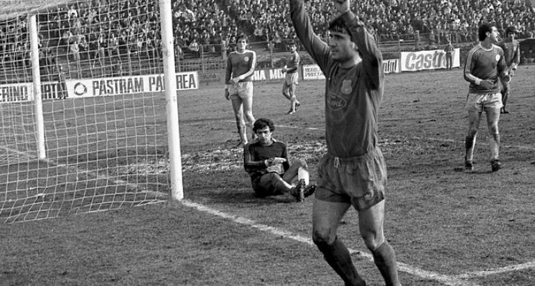 Gheorghe Hagi at Steaua Bucuresti