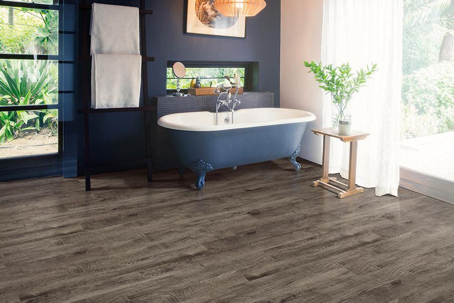 The newest trend in floors is luxury vinyl flooring in