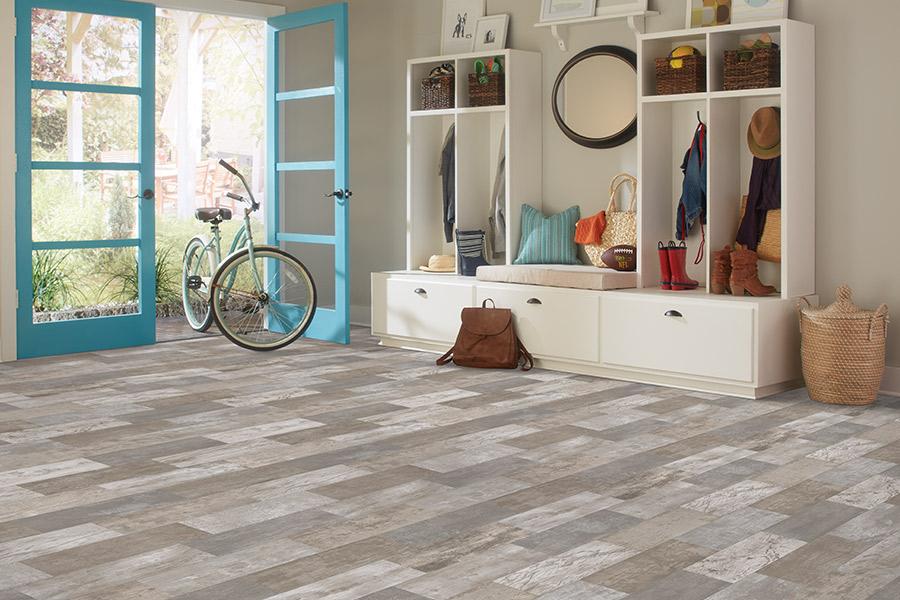 Wood look luxury vinyl plank flooring in Roswell GA from Great American Floors
