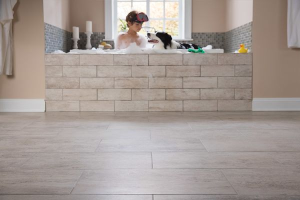 Custom tile bathrooms in Webster Groves MO from Flooring Galaxy