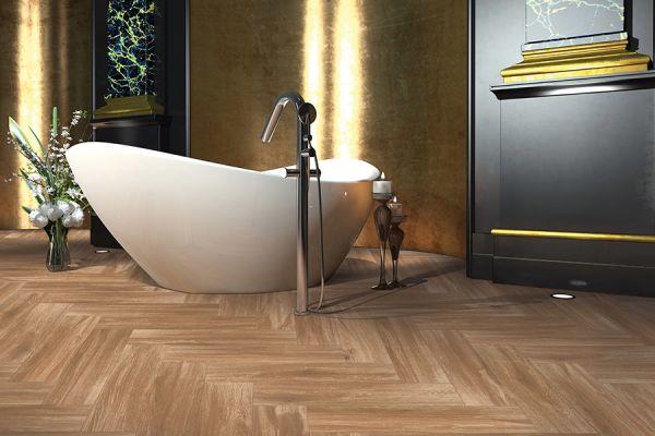 Wood look tile flooring in St. Louis MO from Flooring Galaxy