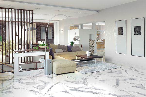 Tile floor installation in University City MO from Flooring Galaxy