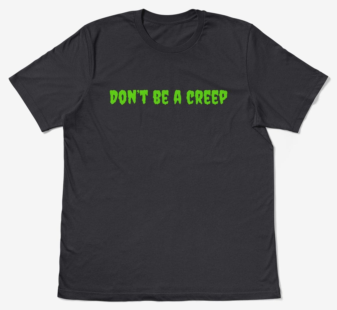 A preview of the dont-be-a t-shirt design