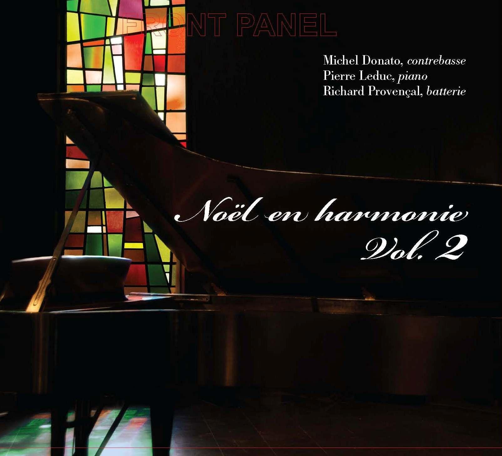 Cover Noël en harmonie vol. 2 - Donato/Leduc/Provençal
