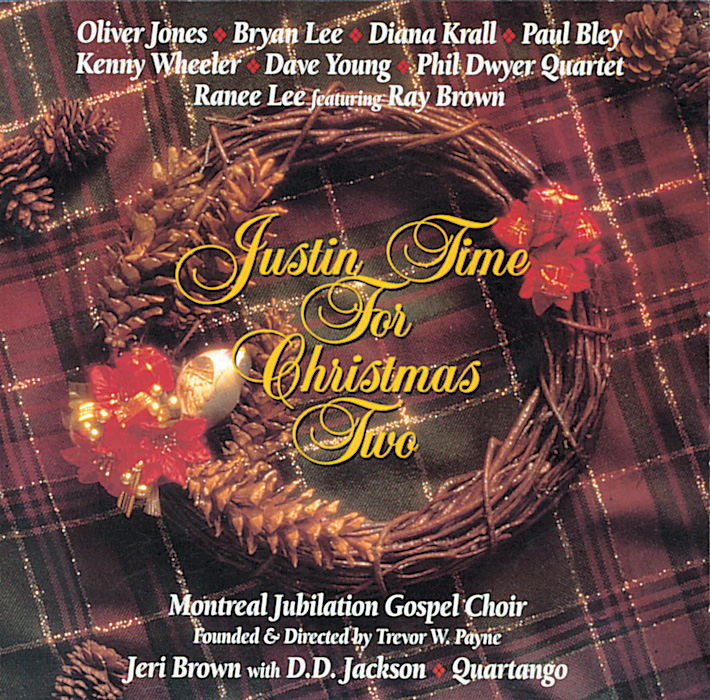 Cover Justin Time for Christmas Two