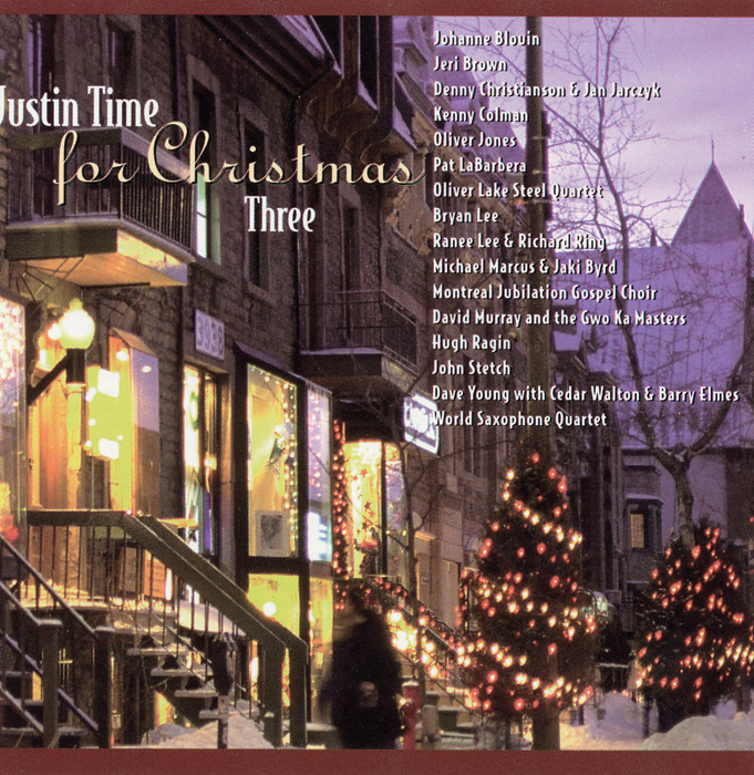 Cover Justin Time for Christmas Three