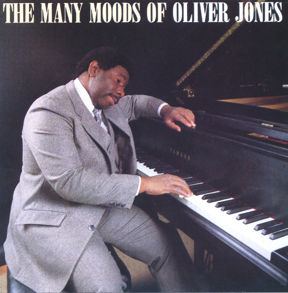 Cover The Many Moods of Oliver Jones