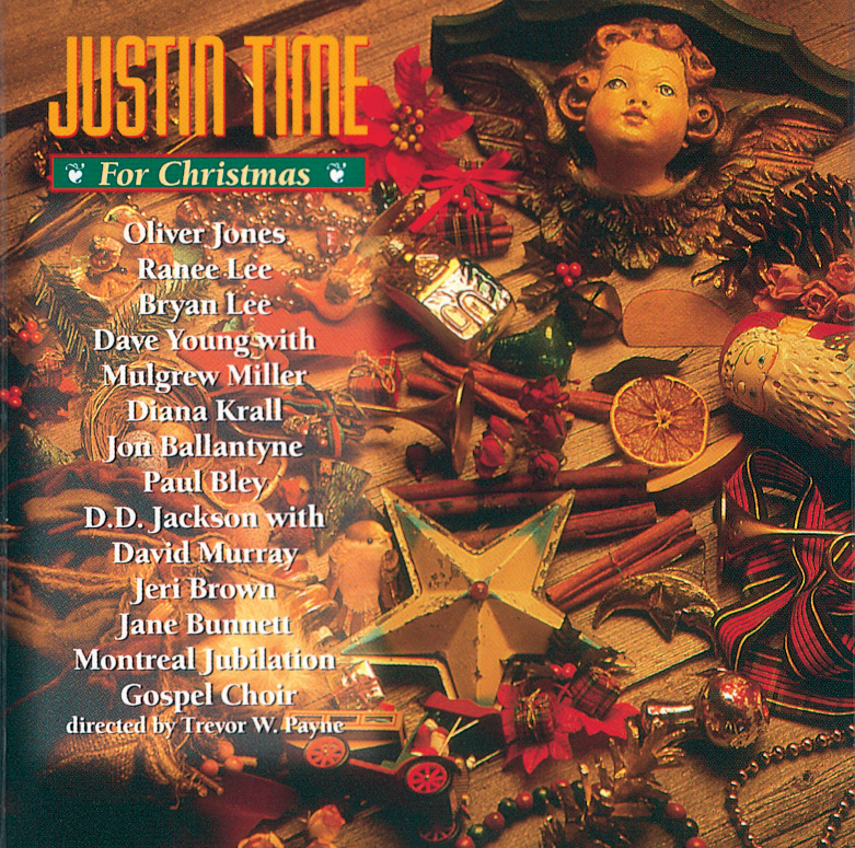 Cover Justin Time For Christmas - One