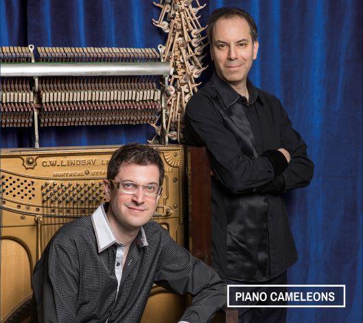 Cover Piano Caméléons