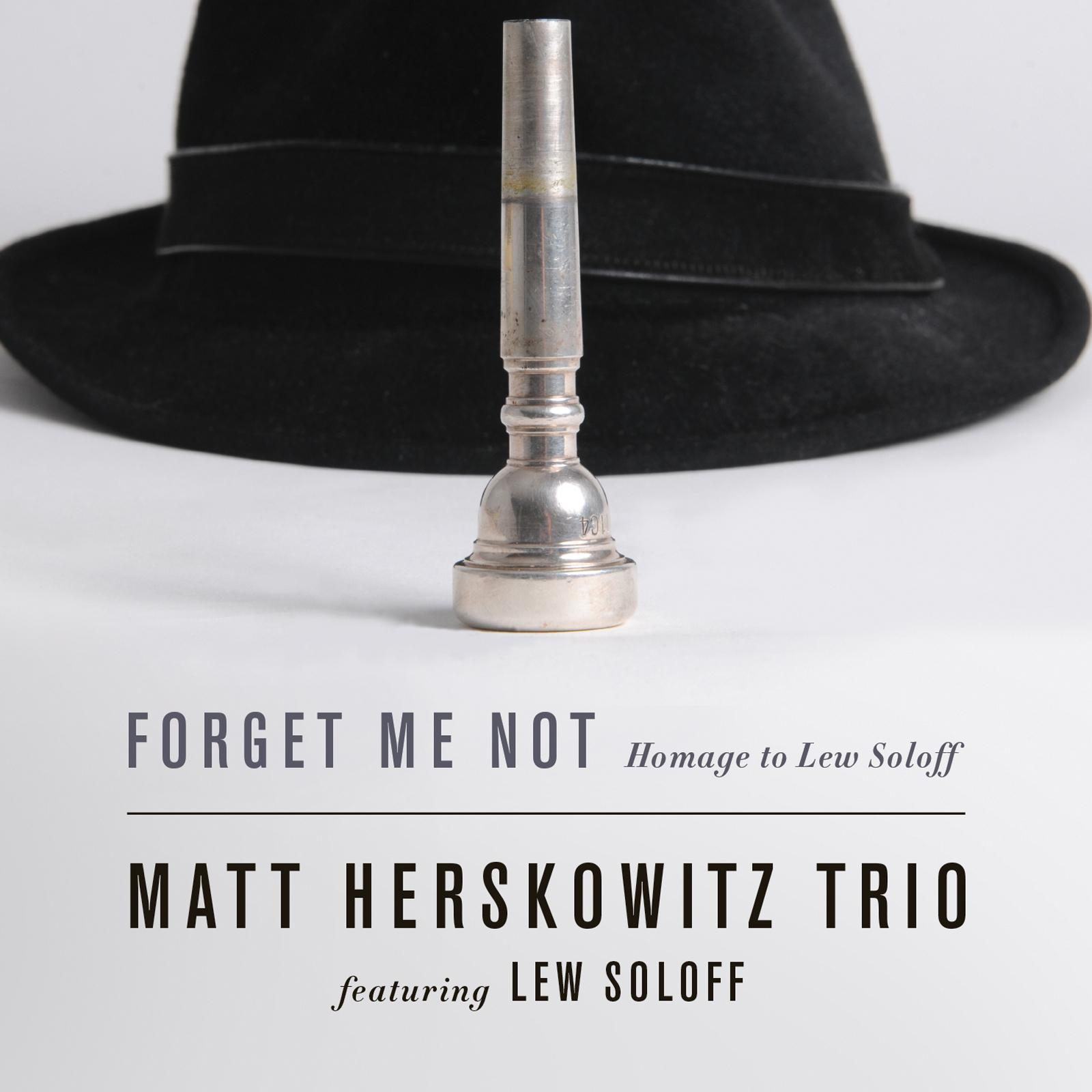 Cover Forget Me Not - Homage to Lew Soloff