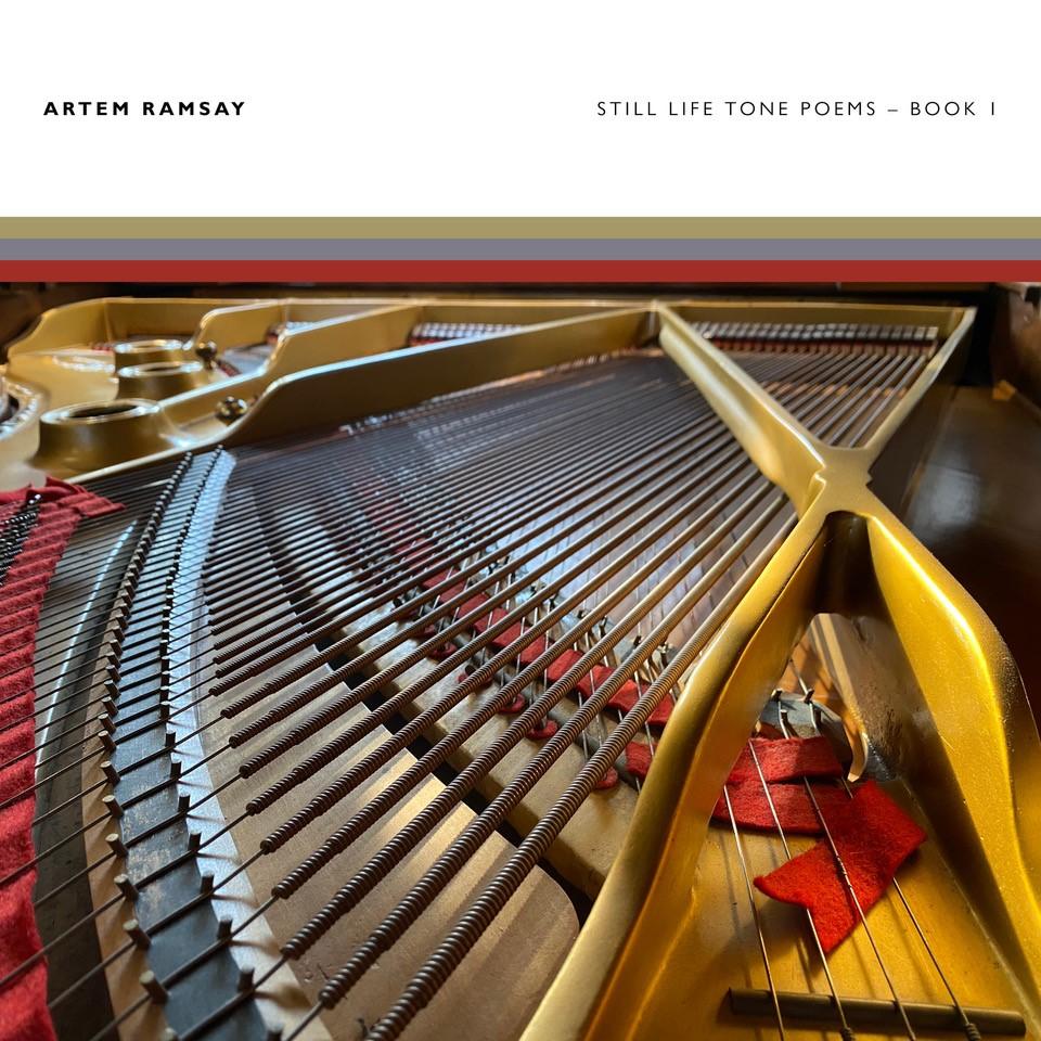 Cover Album - Still Life Tone Poems - Book 1 (Pas disponible sur Disque Compact - disponible uniquement via les plateformes numériques seulement/Not available on CD - available through digital platforms only)
