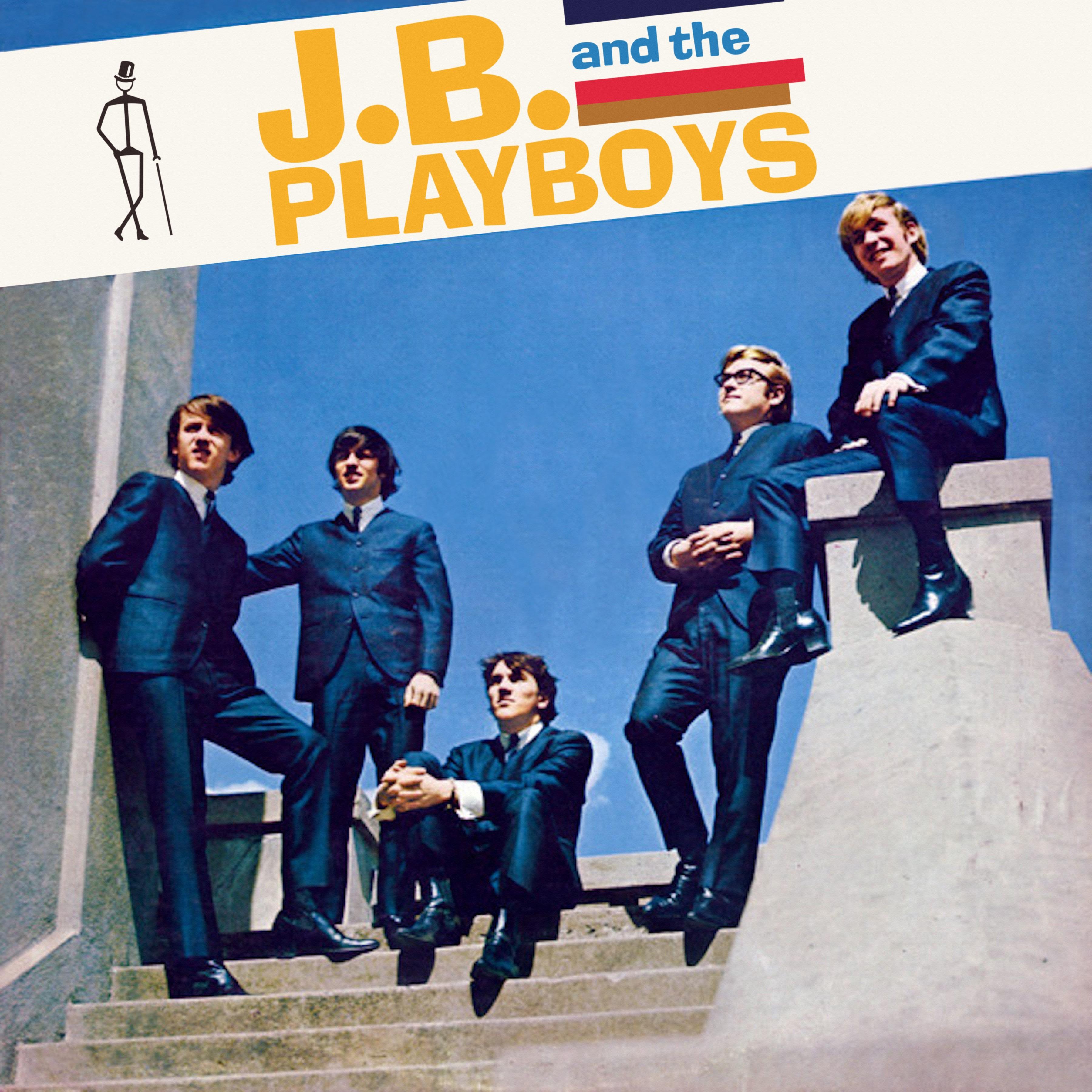 Cover Album - J.B. And The Playboys (Pas disponible sur Disque Compact - disponible uniquement via les plateformes numériques seulement/Not available on CD - available through digital platforms only)