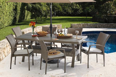 wicker collection patio furniture fortunoff backyard store