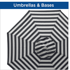 Umbrellas & Umbrella Bases
