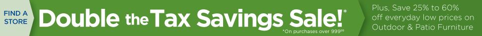 Double the Axe Savings Sale
