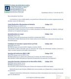 Nuevos Exámenes Julio 2012