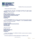 "Nueva Sucursal ""Providencia"""