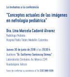 Conferencia: Conceptos Actuales de las Imágenes en Nefrología Pediátrica