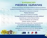 Exposición Piedras Humanas